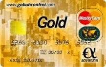Kostenlose Advanzia Mastercard Gold